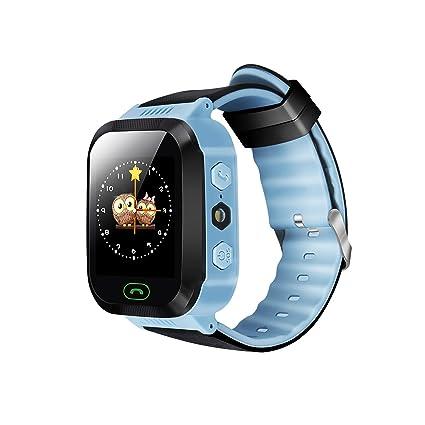 Amazon.com: ykd y21g Smart Watch para niños GPS Tracker ...