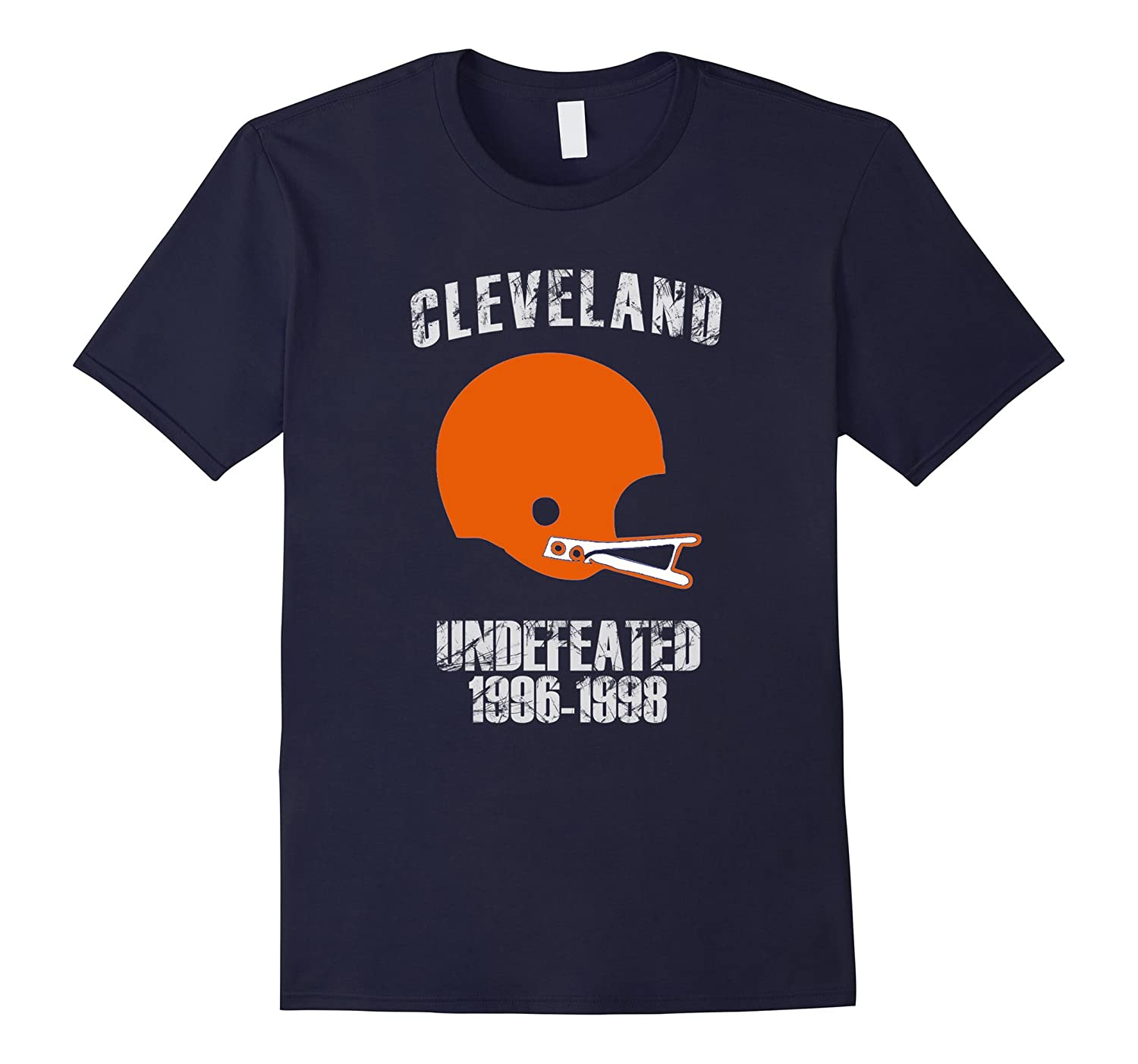 Cleveland Undefeated 1996 - 1998 T-shirt-BN
