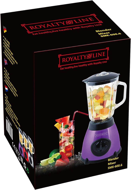 Royalty Line SME-600.6; Blender Mixer 500W Plata licuadora: Amazon.es: Hogar