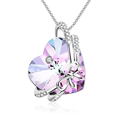 beautiful pendants necklace fashion women necklaces silver suspension butterfly in rhinestone jewelry sweater for long from item pendant