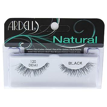 31d6a66da5b Amazon.com : Ardell Natural Lashes for Women, 120 Demi Black : Beauty