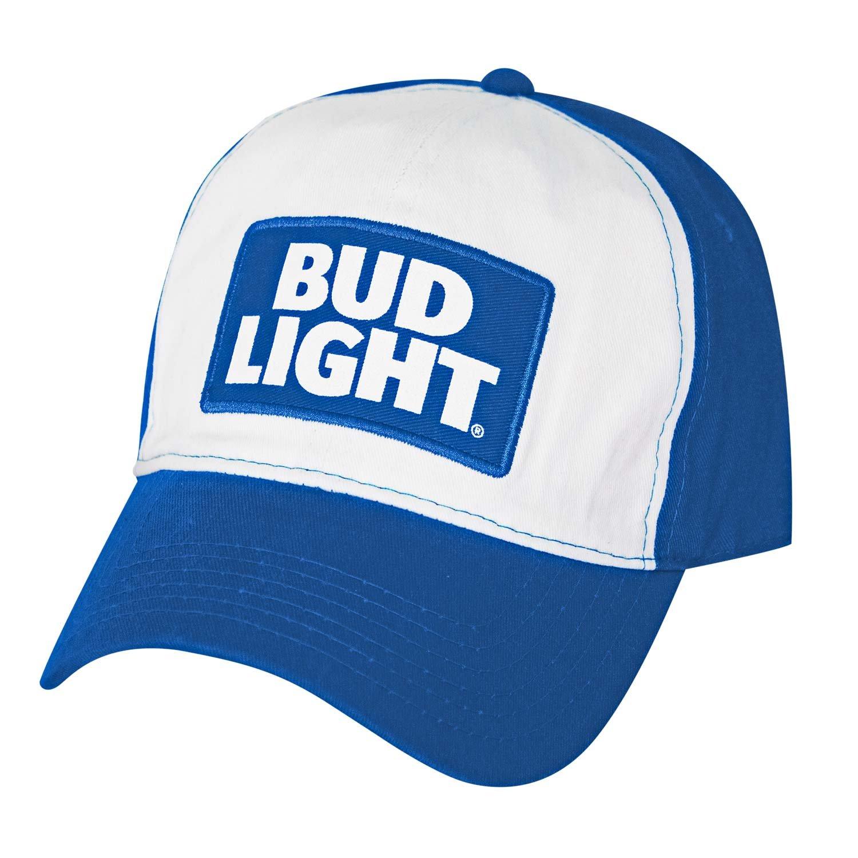 Bud Light & White Baseball Hat BABU2948AZ-430