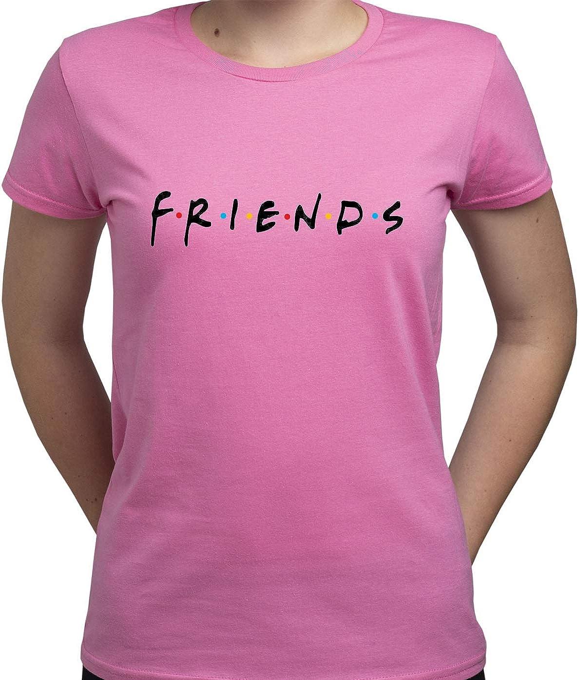 EUGINE DREAM Friends TV Logo Camiseta para Mujer: Amazon.es: Ropa y accesorios