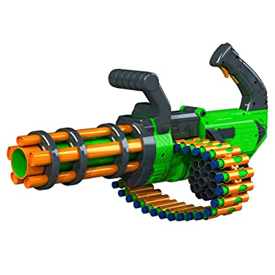 Adventure Force V-Twin Motorized Gatling Belt Dart Blaster: Toys & Games