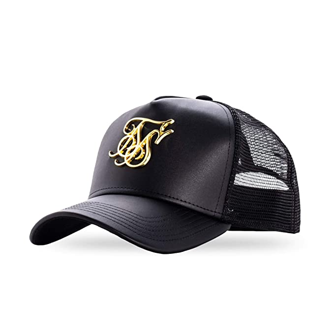 Black Sik Silk  SS-14549 Bent Peak Sports Cap