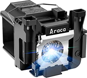 Araca ELPLP89 Replacement Projector Lamp Bulb for EPSON EH-TW7300 EH-TW9300 EH-TW8300 EH-TW9400 Powerlite Home Cinema 5040 5040ub 5040ube 5050 5050ub 5050ube pro Cinema 6040 6040ub 4040 4010