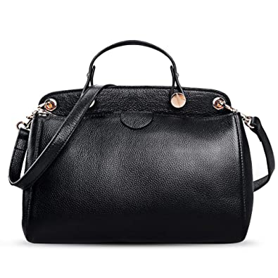 AB Earth Genuine Leather Designer Handbag for Women Doctor Style Top-Handle  Tote Cross Body 5e7778bd753f3