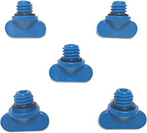 V G Parts Mercruiser Manifold Engine Block Drain Plug Kit - Pack of 5 - Replaces 22-806608A02 GLM 13992, Malloy 9-41203 & Sierra 18-4226