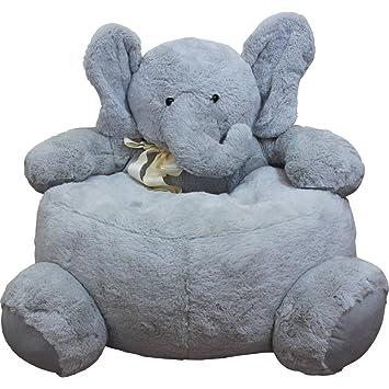Childrens Plush Elephant Chair