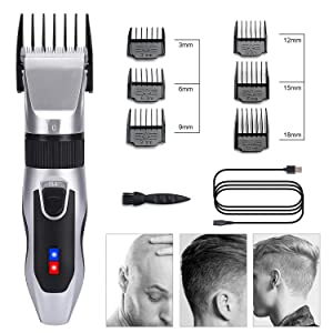 labato Hair Clippers for Men Cordless Home Hair Cutting Kit Rechargeable Detail Trimmer for Beard Mustache Body Self Haircut