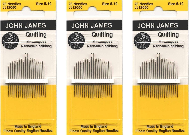 Colonial Needle John James Beading Hand Needles-Size 15 8//Pkg