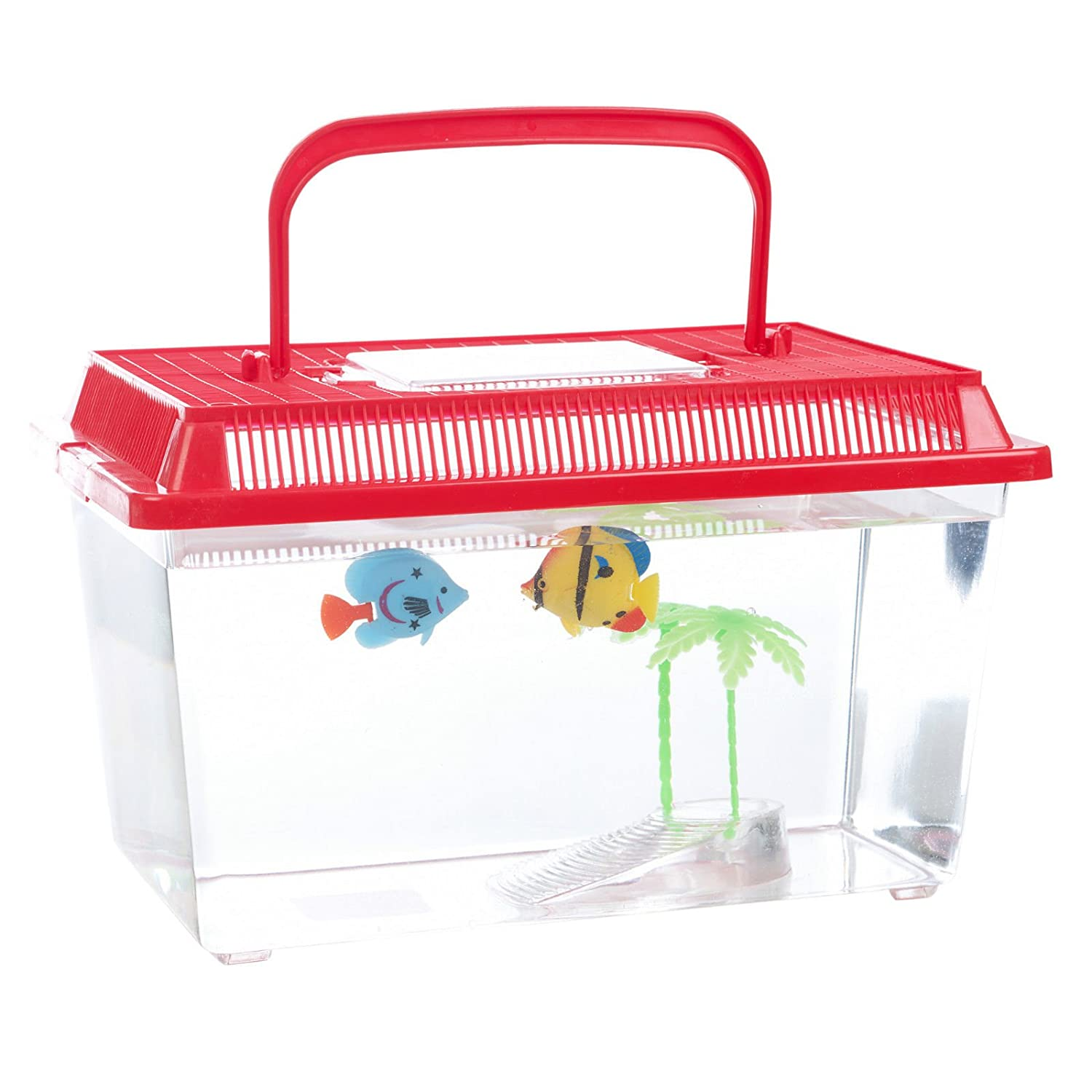 Aquarium en plastique, Red, Small EGT