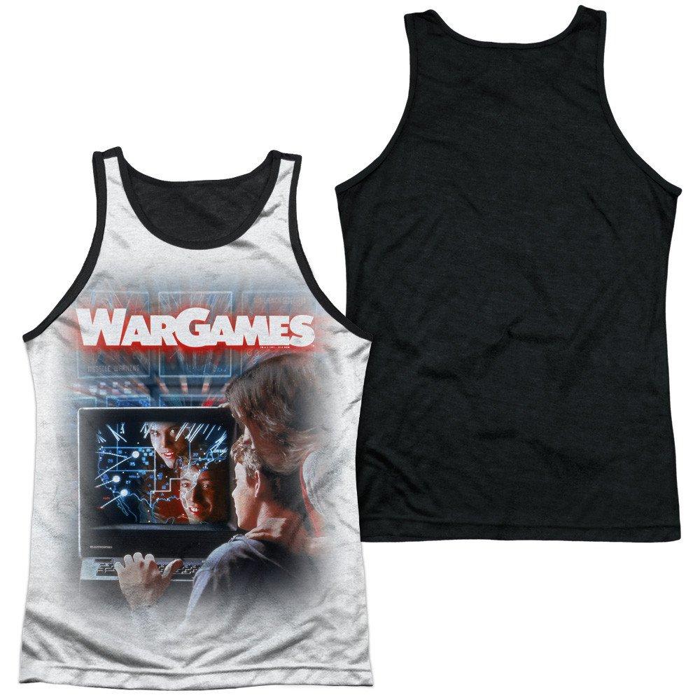 Wargames Poster Adult Tank Top