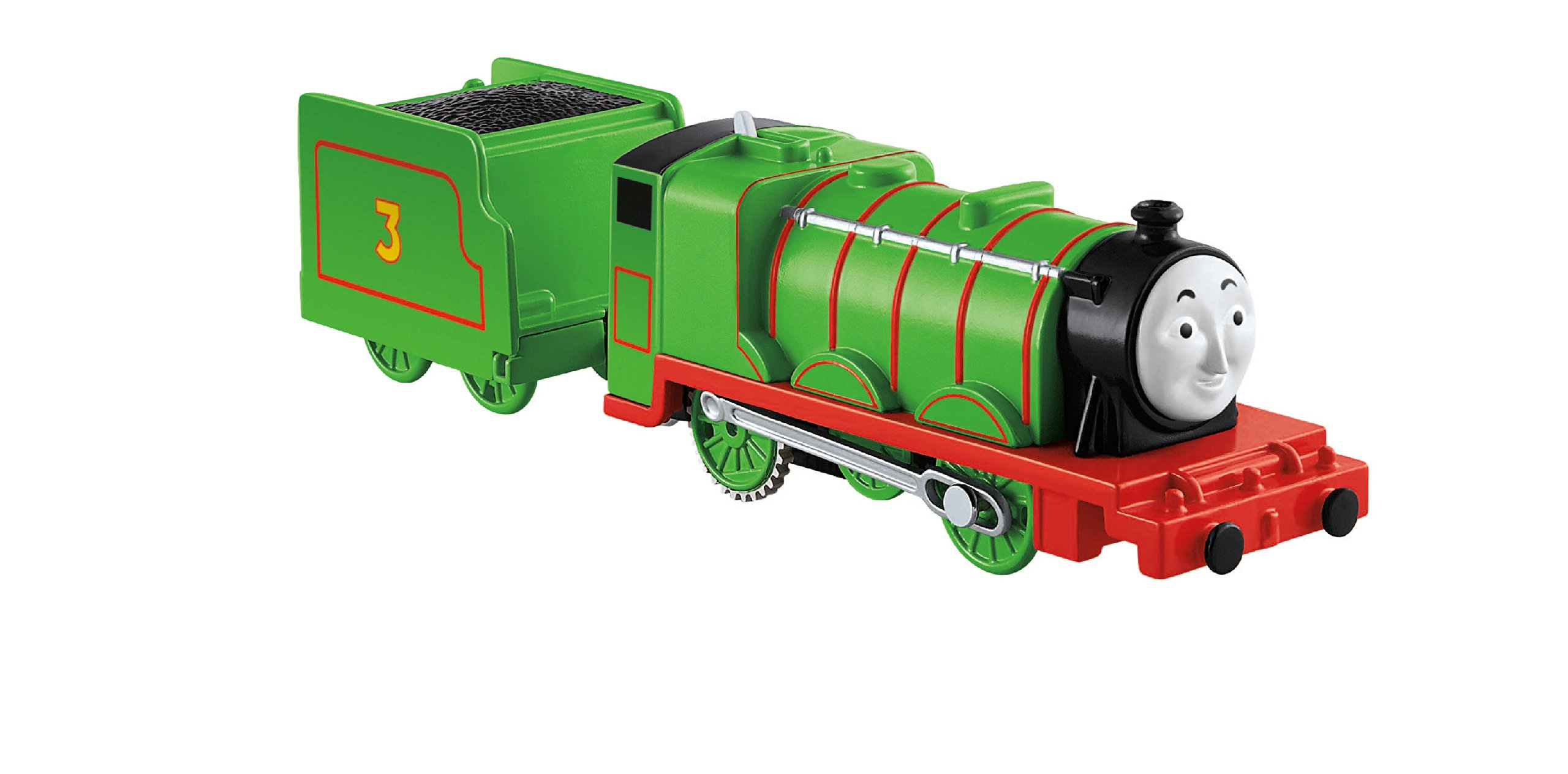 Fisher-Price Thomas & Friends TrackMaster, Motorized Henry Engine by Thomas & Friends