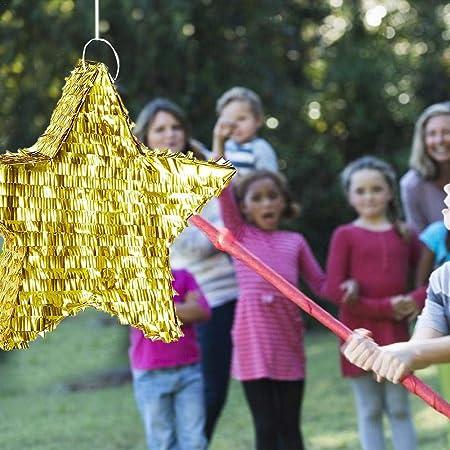 VENTDOUCE - Piñata de Estrella de Oro para niños, Accesorios ...