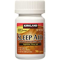 KIRKLAND SIGNATURE Sleep Aid Doxylamine Succinate 25 Mg X Tabs (53201812) No Flavor 96 Count