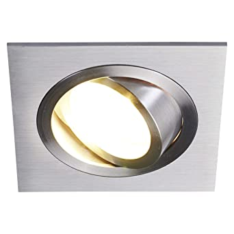 Lampenwelt Einbaustrahler Jannis Modern In Alu Aus Aluminium