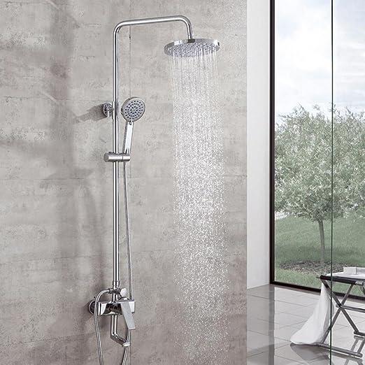 MAFYU columna de duchas Latón Mezclador Baño Ducha Regadera ...