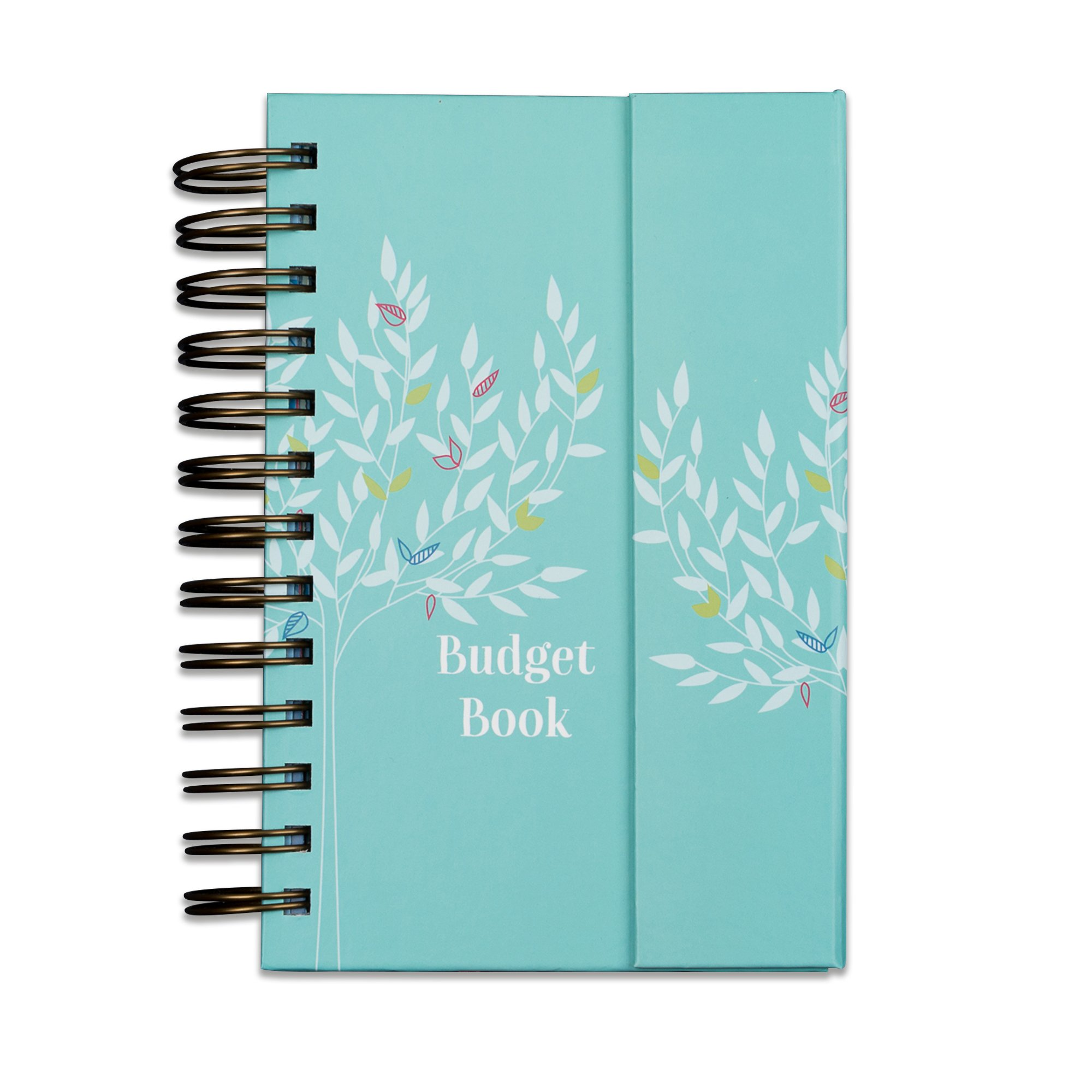Boxclever Press Budget Book. Pretty Monthly Bill Organizer & Budget Planner. Accounts Book to Keep Track of Finances. Household Expenses & Finance Tracker with Pockets to Store Receipts & Bills