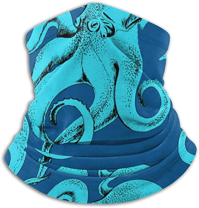 Winter Neck Gaiter Neck Warmer Shield Scarf Headwrap Beanie Hat