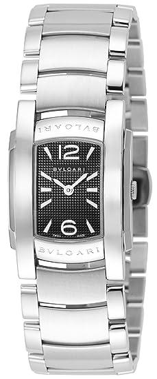 big sale 2e7e9 0ae8f Amazon | [ブルガリ] 腕時計 アショーマD ブラック文字盤 ...
