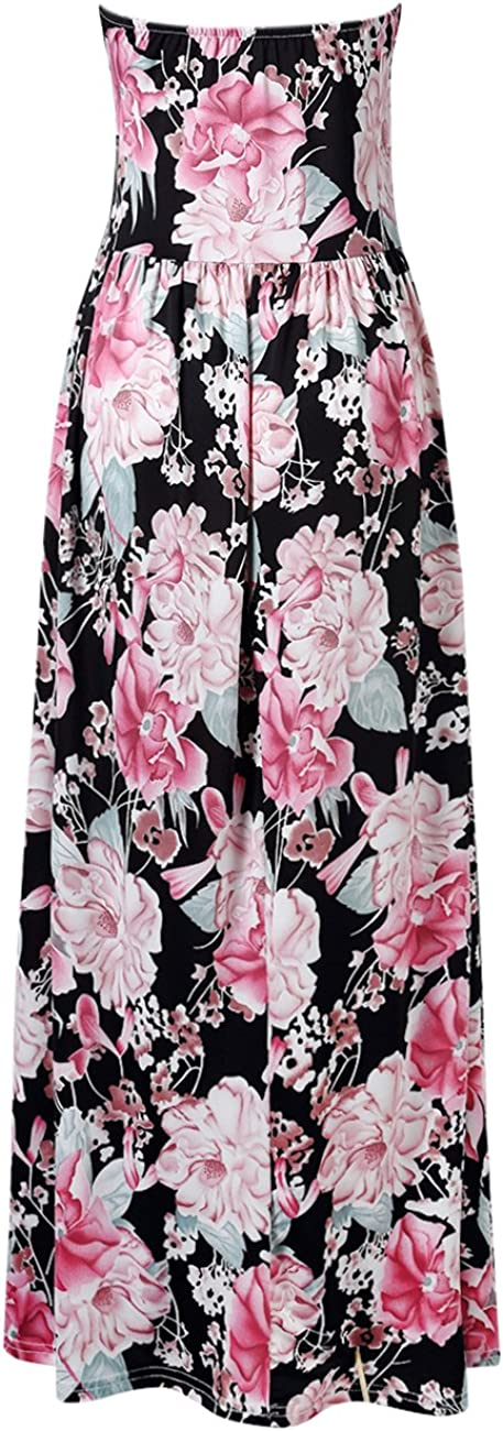 Clearlove Womens Floral Casual Beach Party Maxi Dress