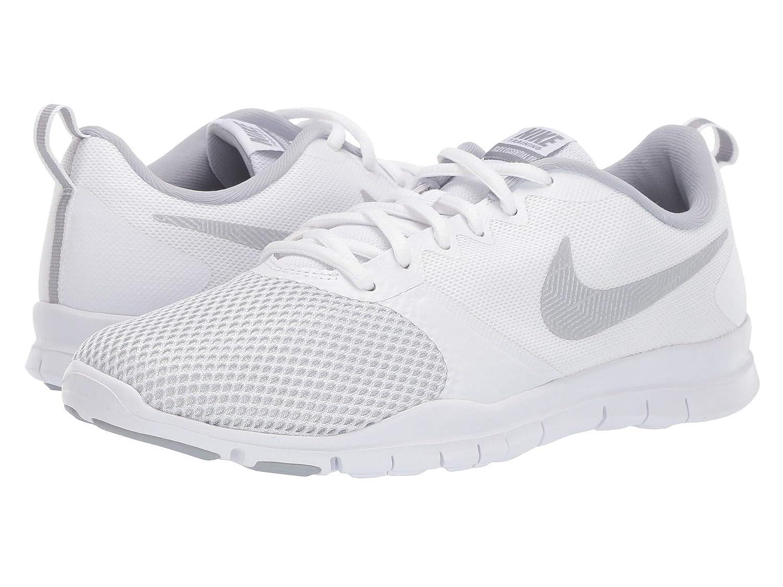 [ナイキ] レディーステニスシューズスニーカー靴 Flex Essential TR [並行輸入品] B07P8SMB84 White/Wolf Grey/Pure Platinum 23.0 cm B