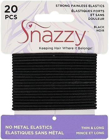 Amazon.com: Gomas para el pelo por Snazzy calidad sin dolor ...