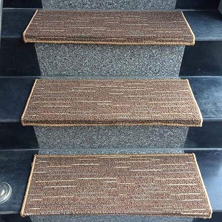 Mármol Escaleras Baldosas De Cerámica Dedicada Alfombra De La Escalera / (Beige, Azul, Marrón, Gris) Estera De La Escalera Antideslizante - Rugs Escaleras For Interior Y Exterior: Amazon.es: Hogar