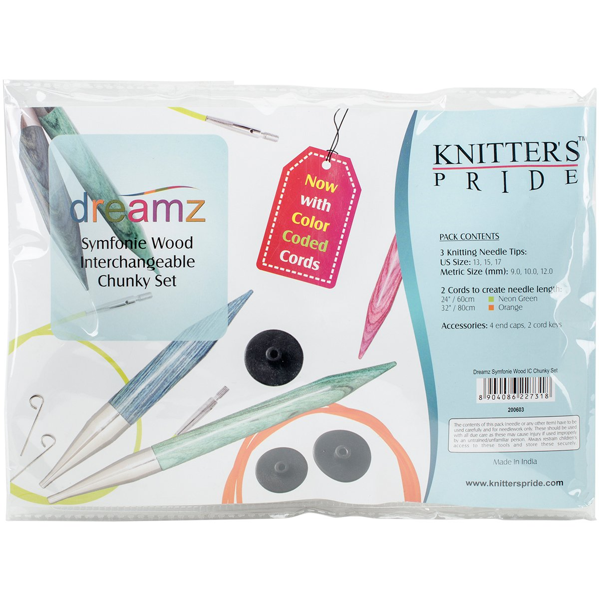 Knitter's Pride KP200603 Dreamz Chunky Interchangeable Needles Set Notions