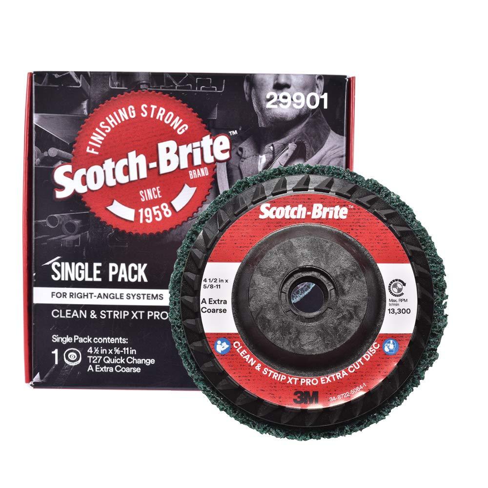 T27 Quick Change 4-1//2 in x 5//8-11 in Scotch-Brite/™ Clean and Strip XT Pro Disc S XCS