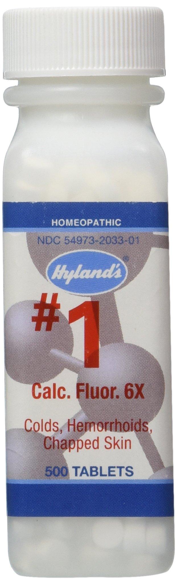 Hyland's - Calc. Fluor 6x, 500 Tablets