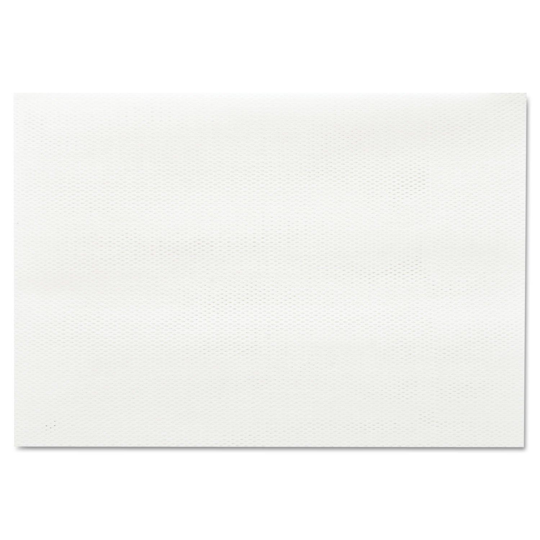 Masslinn Shop Towels, 12 X 17, Yellow, 100/pack, 12 Packs/carton