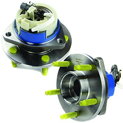 MOTORMAN 513121 Front ABS Wheel Hub and Bearing Set - Both Left and Right - Pair of 2: Automotive