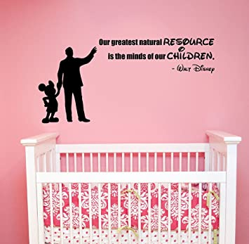 com our greatest natural resource quote wall sticker vinyl