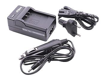 CARGADOR con cargador para COCHE incluido para BATERÍAS FUJI FUJIFILM NP-50 NP-50A NP50 NP50A para FinePix X10, X20, XP170, XP200, Fujifilm XF1 etc.