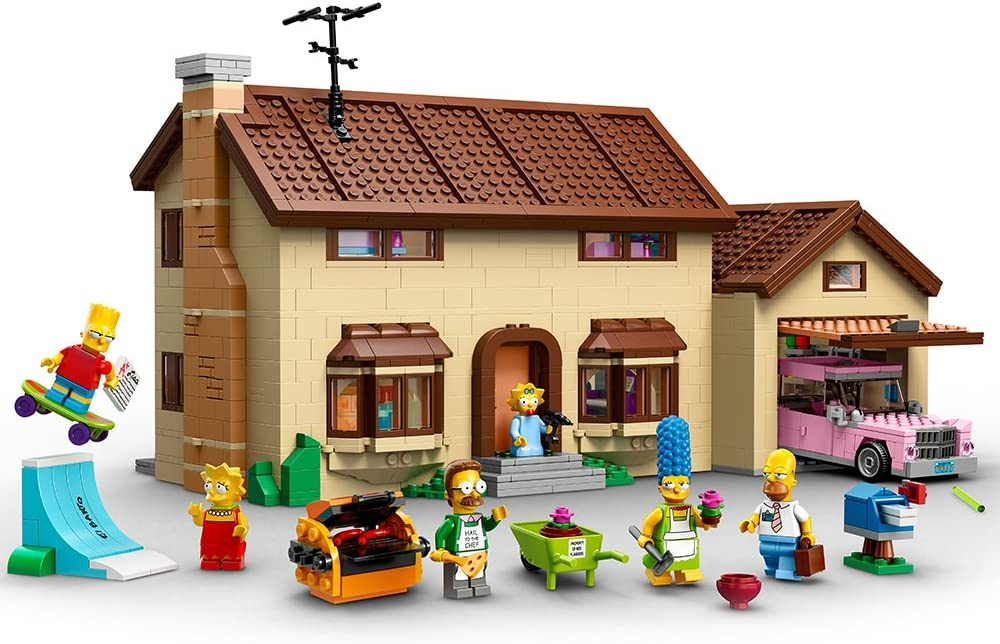 Amazon Com Lego Simpsons 71006 The Simpsons House Toys Games