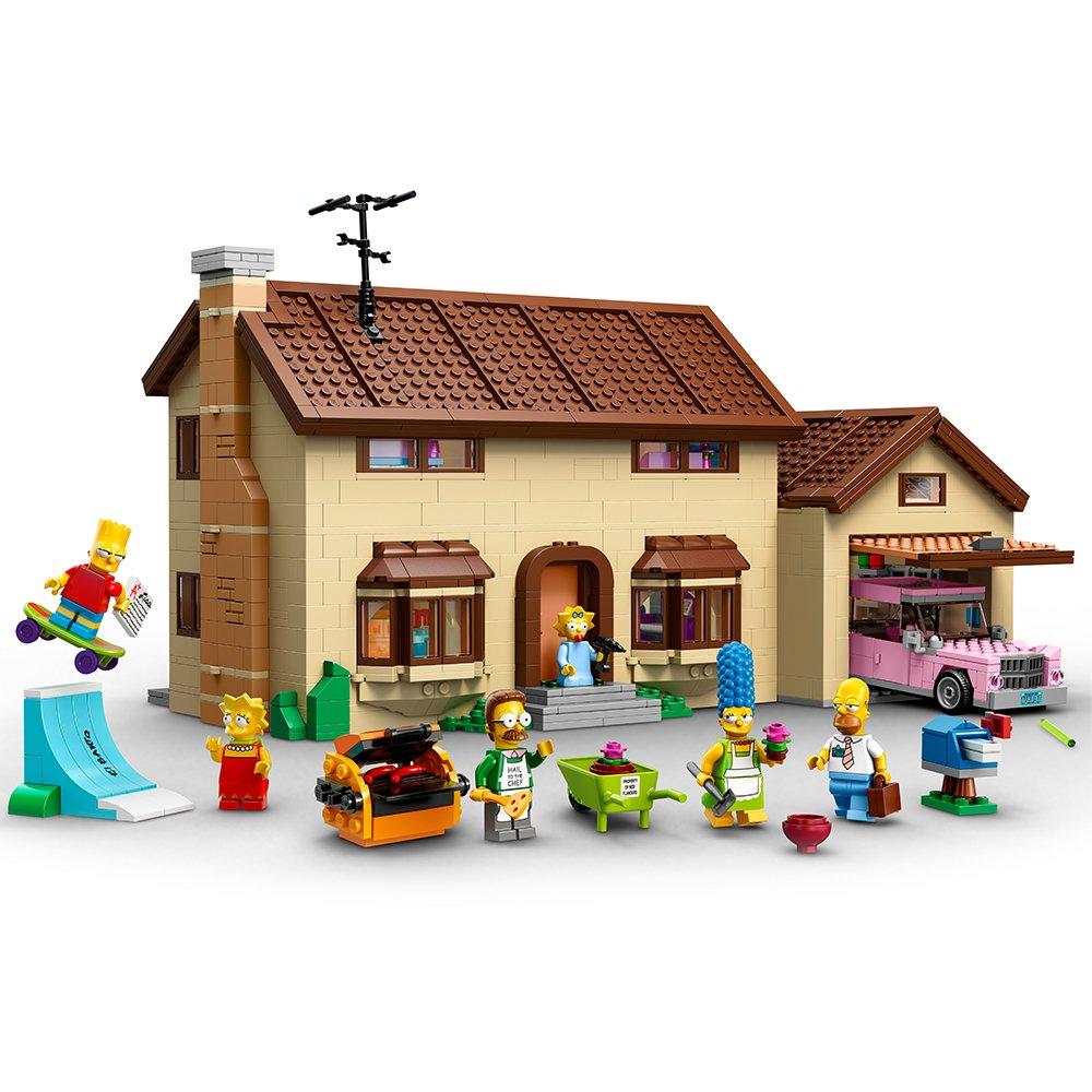 LEGO The Simpsons La Casa de - juegos de construcción, 12 año(s), 2523 pieza(s), Dibujos animados, Niño/niña