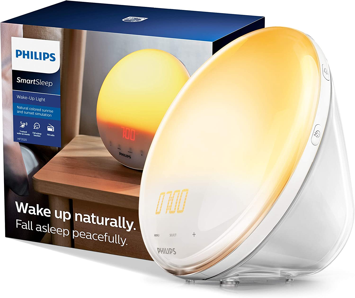 The bedroom is a place to relax after a hard-working day, so choosing a suitable night lamp is very important. Let show your care to your dad's sleep by sending him a SmartSleep Wake-up Light. With the colored sunrise and sunset simulation, this light will help your dad fall asleep peacefully and wake up naturally to have good health to lead your family. What a great father's day gift idea!