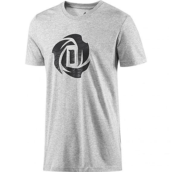 adidas Camiseta Derrick Rose Baloncesto para Hombre, S: Amazon.es: Deportes y aire libre