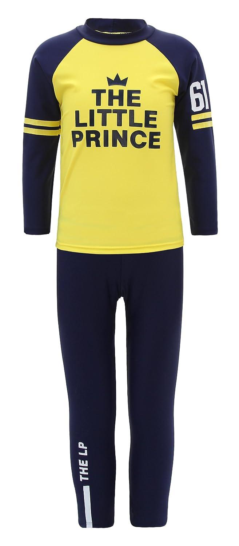 La Vogue Kids Rash Guard Two Piece Set Swimwear Sunsuit Top Pants
