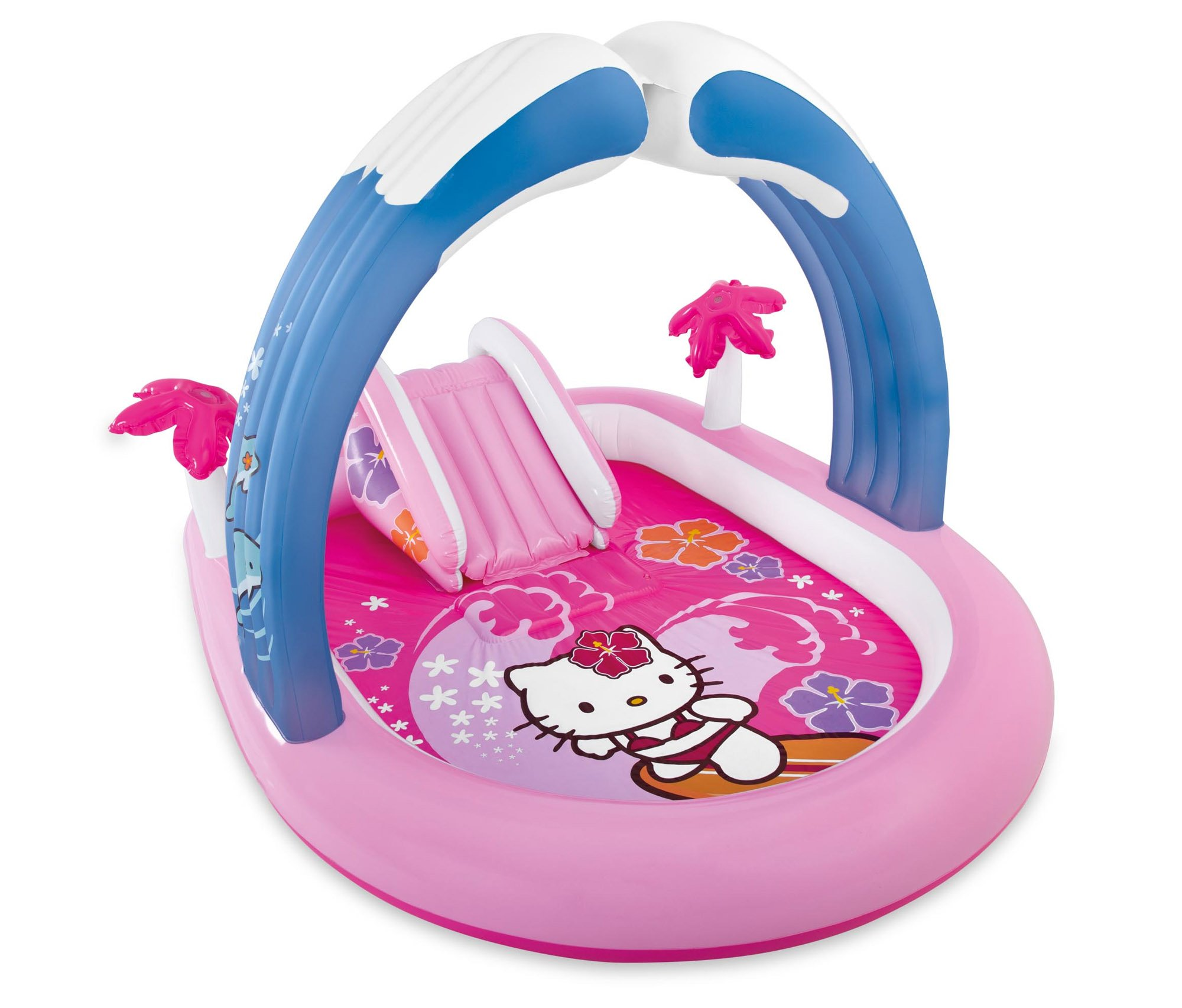 Intex Hello Kitty Inflatable Play Center, 83'' X 64'' X 51 1/2'', for Ages 2+