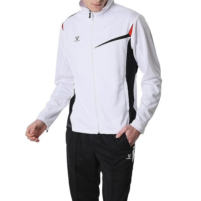 Amazon.com: Fuerza Mens Premium material Knit – Chaqueta ...