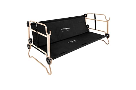 Amazon Com Disc O Bed Large With Organizers Black Sports Outdoors