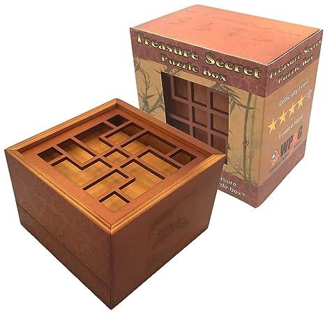 Amazon Com Treasure Secret Puzzle Box Money And Gift Card Holder