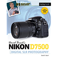 David Busch's Nikon D7500 Guide to Digital SLR Photography (The David Busch Camera Guide Series) book cover