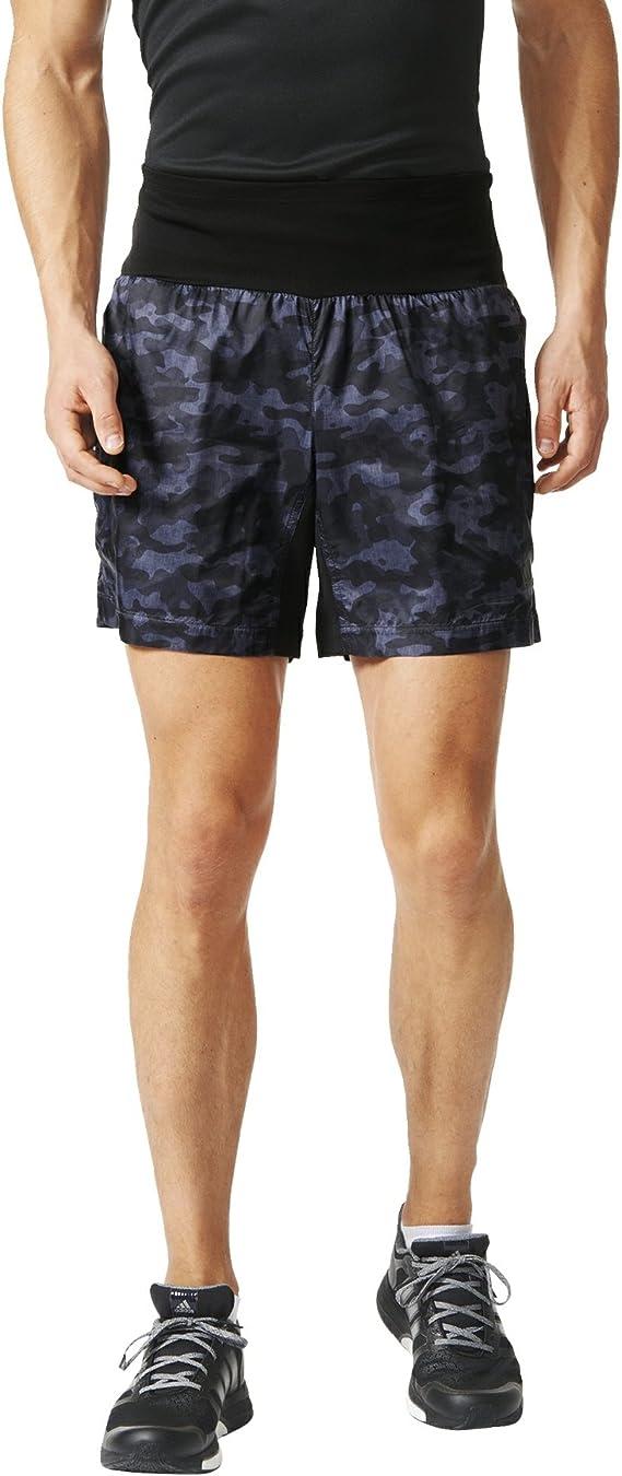 adidas Herren Laufthose Kanoi Run Graphic 7 Zoll Shorts M