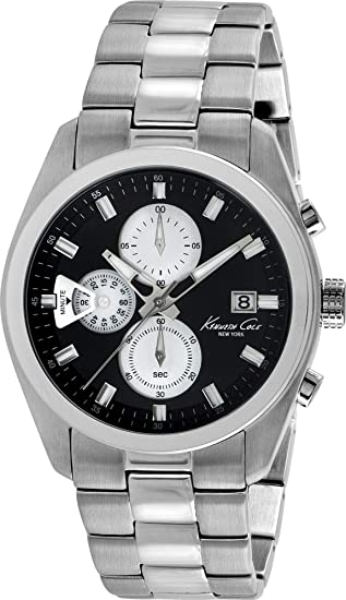 Kenneth Cole Dress Sport KC9361 Mens Chronograph Mulit-Level Dial: Amazon.es: Relojes