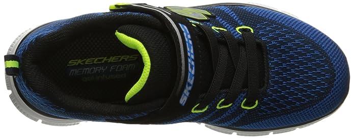 SKECHERS GO RUN RIDE 95676LRYYL enfant (garçon ou fille) Chaussures à lacets, bleu 33 EU