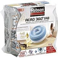 Rubson luchtontvochtiger, navulverpakking, 450 g, lichtblauw/wit Vanille 450 g Gris
